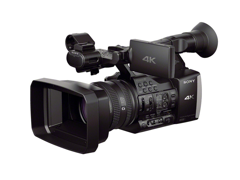 Sony laajentaa Handycam®-tuoteperhettään kuluttajakäyttöön tarkoitetulla 4K-videokameralla