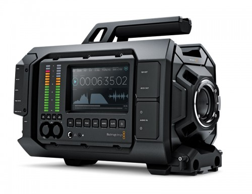 Blackmagic Design julkisti Blackmagic URSA 4K-kameran