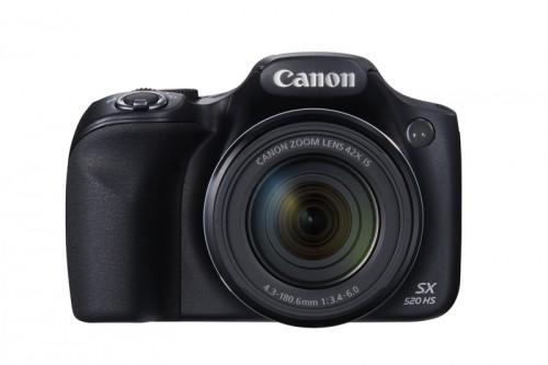 Ergonomiaa ja tehokkuutta: Canon PowerShot SX520 HS ja PowerShot SX400 IS sopivat sekä lähi- että laajakulmakuvaukseen