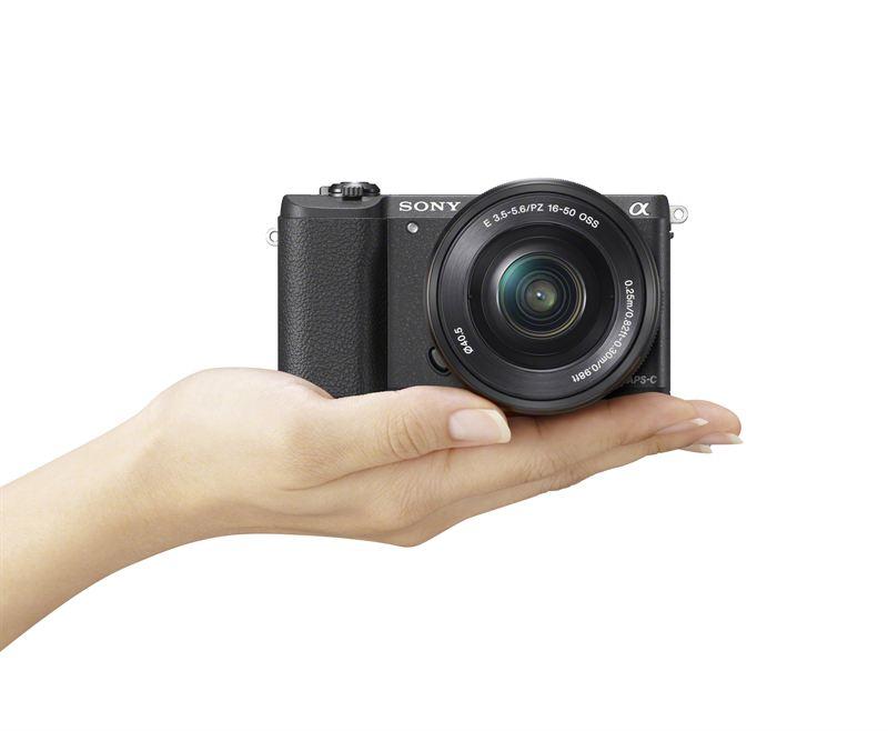 Sony α5100 – maailman pienimmän vaihdettavan objektiivin kamera*
