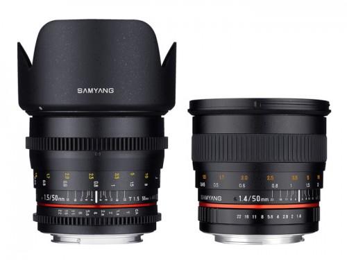 Samyang julkaisee valovoimaisen 50mm objektiivin