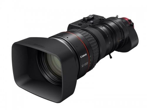 Canonilta uusi servomoottoroitu 4K-elokuvaobjektiivi maailman pisimmällä polttovälillä