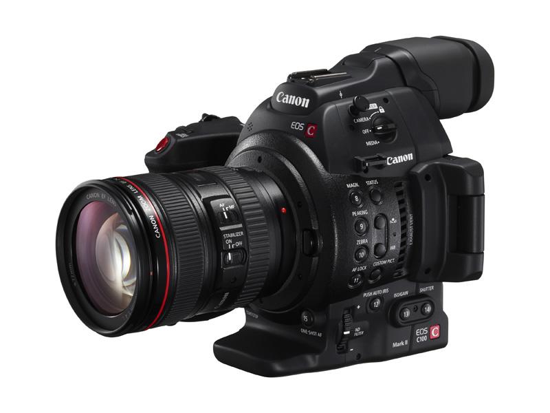 Canon EOS C100 Mark II on uuden sukupolven elokuvakamera