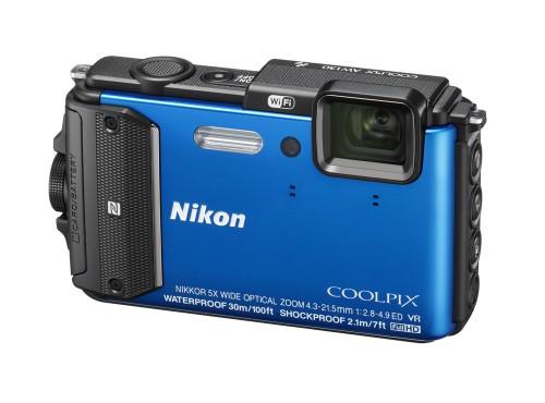 Nikonin uudet vesitiiviit COOLPIX-seikkailukamerat sukellukseen ja kiipeilyyn