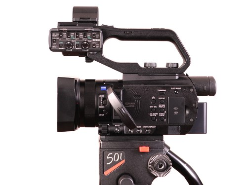 Sony PXW-X70 left side