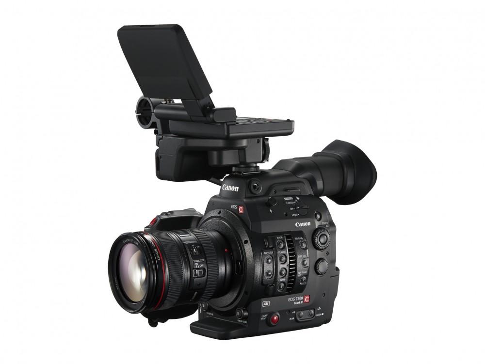 Monipuolinen EOS C300 Mark II 4K-kuvaukseen