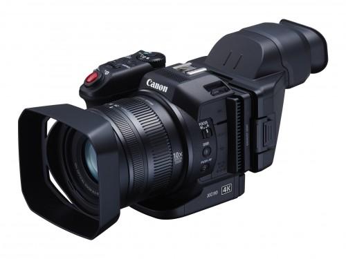 Canon XC10 on pienikokoinen 4K-kamera video- ja stillkuvaukseen