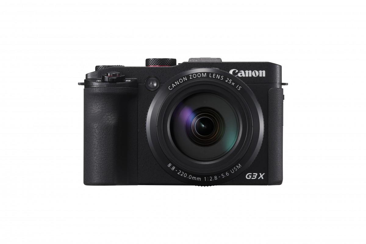 PowerShot G3 X on Canonin suorituskykyisin superzoomilla varustettu kompaktikamera