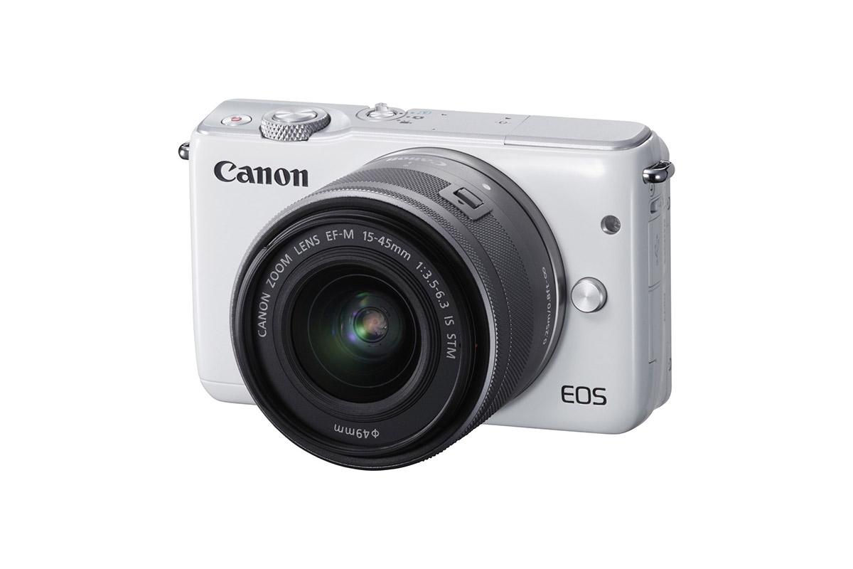 Canonilta uusi peilitön järjestelmäkamera EOS M10