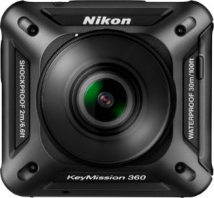 Nikon astuu action-kameramarkkinoille 360 asteen kuvalla