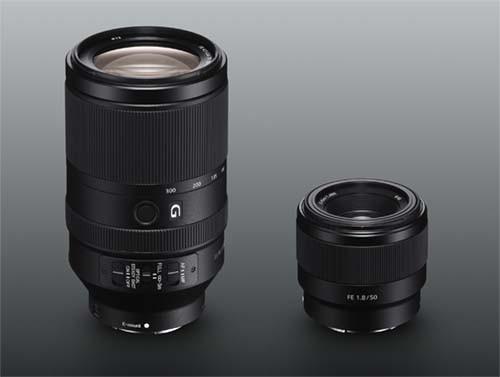 Sony julkisti kaksi uutta täyden kinokoon FE-objektiivia: FE 70-300 mm F4.5-5.6 G OSS zoom ja 50mm F1.8
