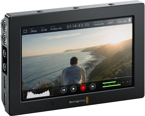 Blackmagic Video Assist 4K on edullinen 4K-tallennin/näyttö