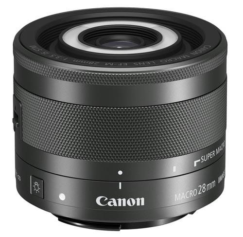 Canon EOS M -sarjan kameroille makro-objektiivi