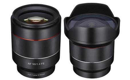 Samyang julkisti kaksi uutta objektiivia Sony FE-kiinnitykselle