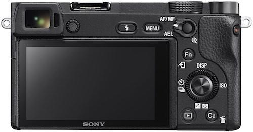 Sony a6300 rear