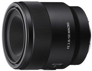 Sonylta makro-objektiivi FE 50 mm F2.8