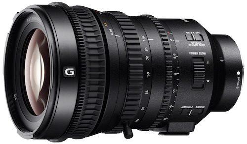 Sony julkisti uuden powerzoomin E PZ 18-110mm F4 G OSS